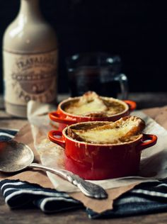 Portered French Onion Soup with Île-aux-Grues Cheddar | The Gouda Life