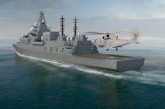 Multi-billion deal: Royal Navy orders three new Type 26 frigates