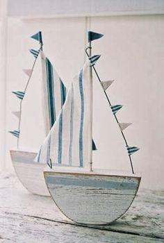 80+ Διακοσμήσεις - Κατασκευές σε ΝΑΥΤΙΚΟ στυλ (Nautical) | ΣΟΥΛΟΥΠΩΣΕ ΤΟ