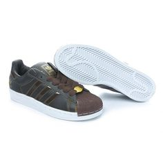 Adidas Superstar Shoes Brown
