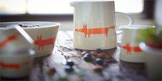 Breakfast dishes // Fox jug // Scion Living // Home
