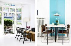 design attractor: Cute 58 square meters in Copenhagen