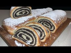 Hi everyone, today we are making Poppy Seeds Strudel. This is a great desert recipe, great for all occasions, after lunch or to be enjoyed with coffee. Hallumi Recipes, Strudel Recipes, Cooking Recipes, Bread Recipes, Cooking Tips, Recipies, Babka Recipe, Bosnian Recipes, Kitchens