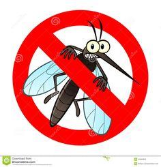 Anti Sinal Do Mosquito Ilustração do Vetor - Imagem: 40362832
