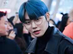 Choi Daniel, Autumn Rain, Hoop Earrings, Kpop, Glasses, Jewelry, Boys, Blueberries, Twitter