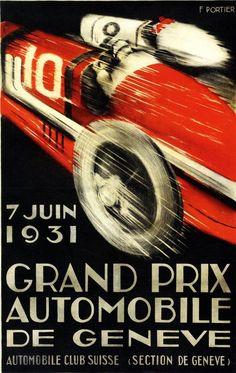 Grand Prix Automobile de Geneve, 1931, Francis Portier  Blog — Oil&Ink