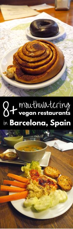 8 Best Vegan Restaurants in Barcelona (Budget Friendly) If you're vegan or vegetarian and looking for the best vegan restaurants in Barcelona, we think you'll love these healthy food options from our recent trip. Veggie Hotels, Barcelona Food, Barcelona Trip, Barcelona Spain, Best Vegan Restaurants, Vegetarian Recipes, Healthy Recipes, Healthy Food Options, Vegan Foods