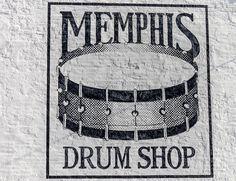 memphis drum shop by Jeremy Sorrells, via Flickr