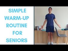 Standing Warm-Up Routine For Seniors Hip Workout, Strength Workout, Workout Videos, Workouts, Workout Plans, Warm Up Routine, Fitness Tips For Men, Health Programs, Senior Fitness