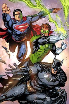 Superman/Green Lantern/Batman