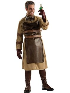 Adult Mad Scientist Costume | Cheap Horror Costumes for Men