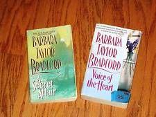LOT OF 2 ~ BARBARA TAYLOR BRADFORD + Romance