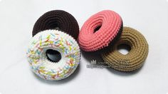 #코바늘 #도넛 #만들기 #crochet #donut #diy #handmade