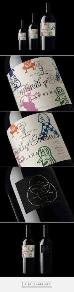 Friends of Friends - Packaging of the World - Creative Package Design Gallery - http://www.packagingoftheworld.com/2016/01/friends-of-friends.html