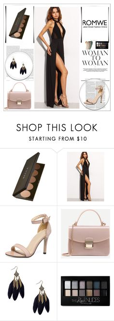 """Romwe 3/XI"" by nermina-okanovic ❤ liked on Polyvore featuring Becca, Maybelline, Gucci and romwe"