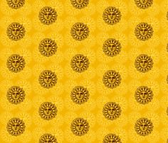 suns fabric by krs_expressions on Spoonflower - custom fabric