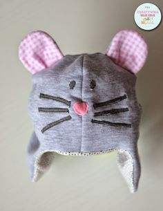 czapka myszka