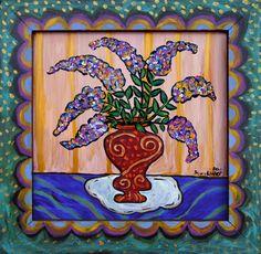 "Sarah Rakes ""Summer Butterfly Bush"""