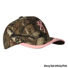 Gander Mountain® > Browning Womens Gunner Camo Cap - Apparel > Women's Accessories > Headwear > Baseball Hats :
