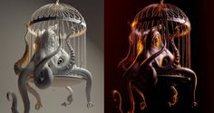 "CGI 3D Modeling HD: ""The Making of the ""Evil Octopus"" by - Lightfarm Stu..."