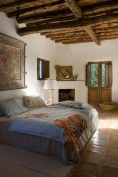 Interior Spaces - Casa can Mares Ibiza Home Design, Interior Design, Suites, Beautiful Bedrooms, My Dream Home, Dream Homes, Sweet Home, Bedroom Decor, New Homes