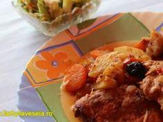Cotlete de porc cu legume (reteta video)