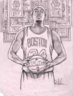 Paul Pierce Fan Art