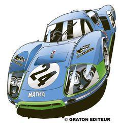 Le Mans, Automobile, Old Race Cars, Car Drawings, Automotive Art, Sports Art, Car Painting, Courses, Art Cars