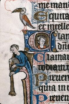 Marseille, Bibliothèque municipale, 0111 f. 081v. Psalter, Hours of the Use of Thérouanne. c1280-1290