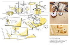 Design Problem: How Do You Design a Cutting Board for One-Handed Users? Here are several takes to help the differently-enabled maintain their independence in the kitchen BY RAIN NOE - MAR 28 Design Thinking, Packaging Design, Your Design, Cutting Board, Projects, Project Ideas, Boards, Concept, Product Sketch