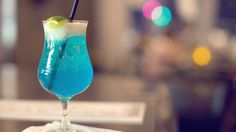 Blue Margarita - this was good!  I put it in the Magic Bullet.