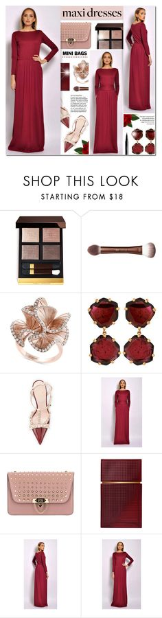 """""""DesirVale 29"""" by anyasdesigns ❤ liked on Polyvore featuring Tom Ford, Effy Jewelry, Annoushka, Kate Spade, Valentino, Elizabeth and James and NYX"""