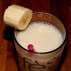 Recept na banánovo-zázvorové smoothie - výčet potřebných surovin, postup přípravy, přehled nutričních hodnot, vitamínů, minerálů a stopových prvků