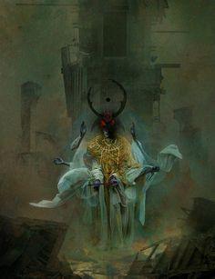 gabriel-romero81:by Samuel Araya -The King in Yellow- Tatters of the King