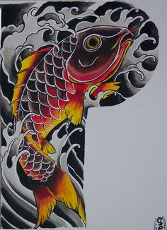koi half sleeve tattoo pictures - Google Search