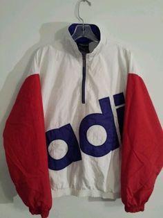 Vintage Adidas Hip Hop jacket windreaker Run DMC by 90s Fashion, Korean Fashion, Fashion Outfits, Vintage Outfits, Vintage Fashion, Style Masculin, Vintage Windbreaker, Hip Hop Outfits, Vintage Adidas