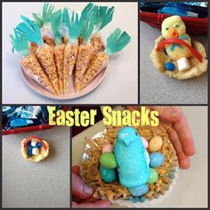 fun and easy Easter snacks
