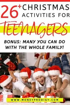 26 Christmas Activities for Teenagers (They'll Actually Find Cool)