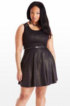 fashion to figure | Plus Size Backstory Lace Dress | Fashion To Figure