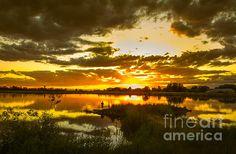 Fishermen Sunset II:  See more images at http://robert-bales.artistwebsites.com/