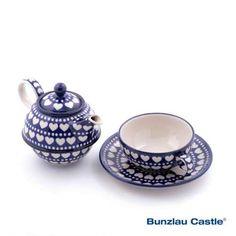 Bunzlau Castle    Tea for one Blue Valentine