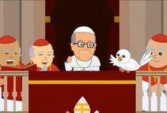 VIDEO: La biografía del Papa Francisco en dibujos animados