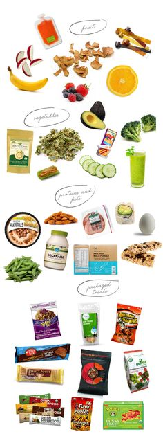 A Cheat Sheet for Healthy School Lunches | via The Honest Company