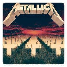 Metallica Album Covers, Metallica Albums, Jason Newsted, Robert Trujillo, Dave Mustaine, Kirk Hammett, 80s Rock, James Hetfield, Heavy Metal Bands