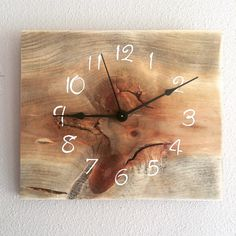 If you want a Modern Mountain look these new Barnwood rectangle clocks are rustic with clean lines.
