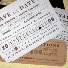 Train ticket invite