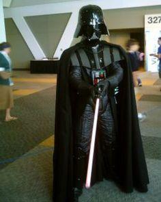 DIY Darth Vader....kaya wants to b this for halloween lol