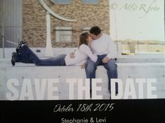 Our save the date post card 100 for $30 including shipping