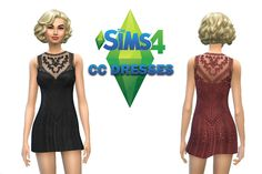 The Sims 4 CC Dresses