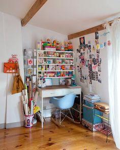 Emilie, Saint Denis - Inside Closet